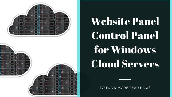 WebsitePanel Control Panel for Windows Cloud Servers