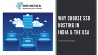 Why choose SSD Hosting in India & the USA?