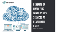 Benefits Of Employing Windows VPS Services At Reasonable Rates