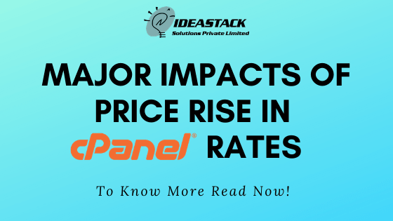 Major Impacts Of Price Rise In CPanel Rates.