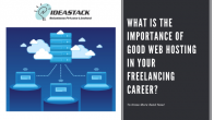 What Is The Importance Of Good Web Hosting In Your Freelancing Career?