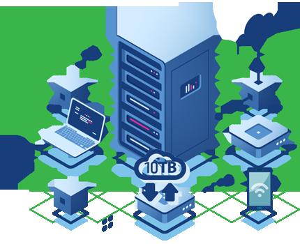 High Bandwidth Dedicated Server