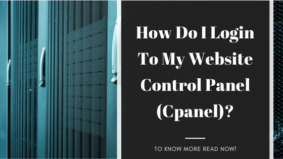 How do I login to my website control panel (cpanel)?