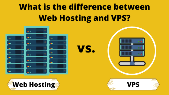 What is the difference between Web Hosting and VPS?