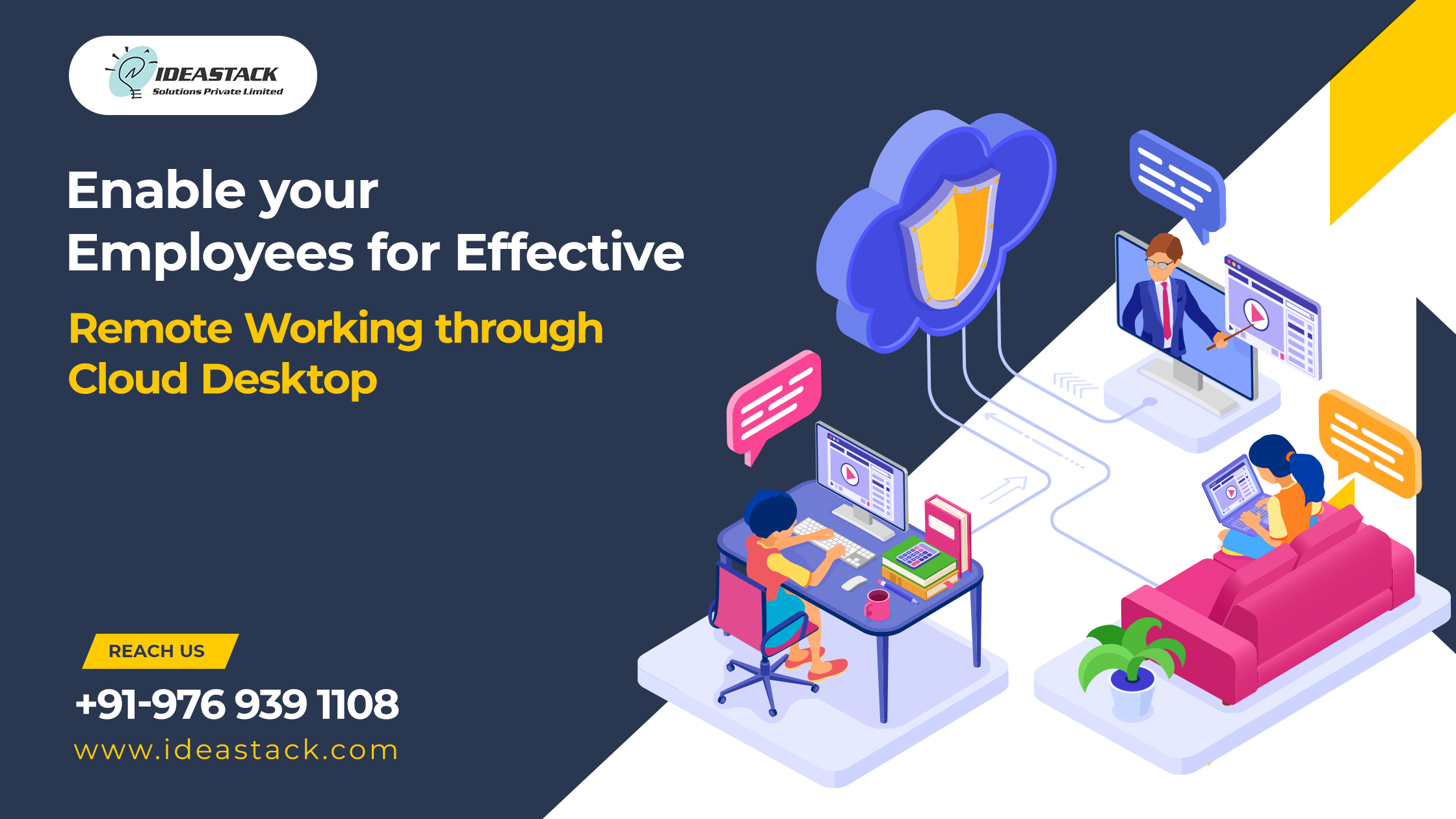 Enable Your Employees For Effective Remote Working Through Cloud Desktop