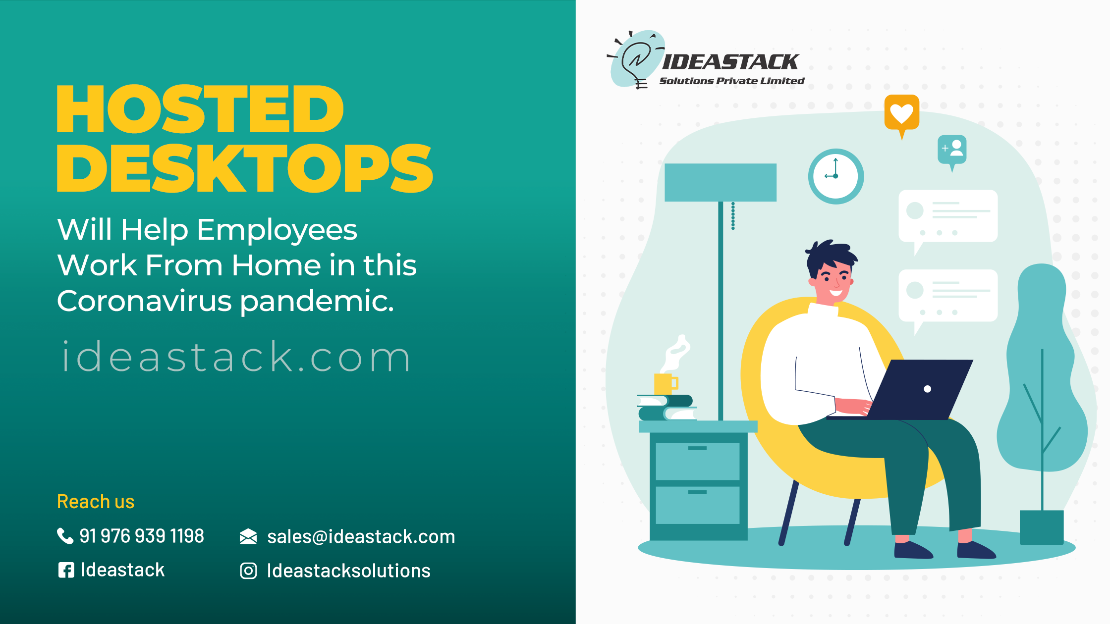 Hosted Desktops Will Help Employees Work From Home In This Coronavirus Pandemic