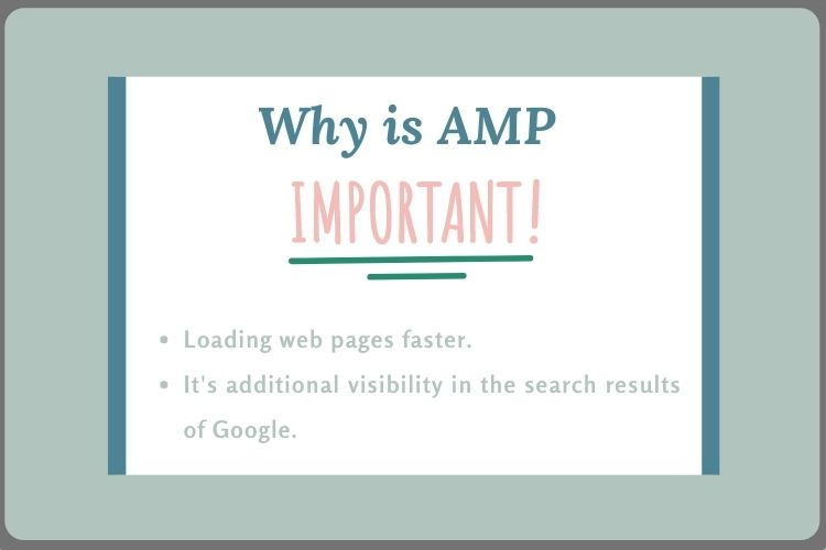 Why is AMP important?