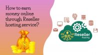 How To Earn Money Online Through Reseller Hosting Service?