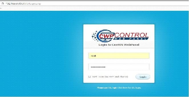 Control Wen Panel