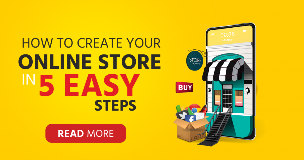How to create your online store in 5 Easy Steps