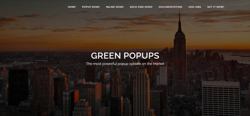 Green Popups